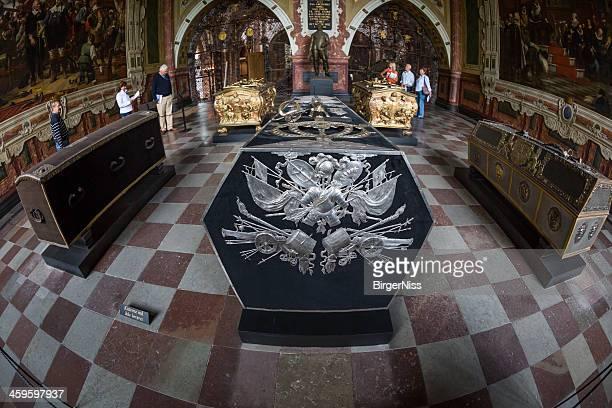 King Christan IV's Sarkophag, Kathedrale von Roskilde, Dänemark