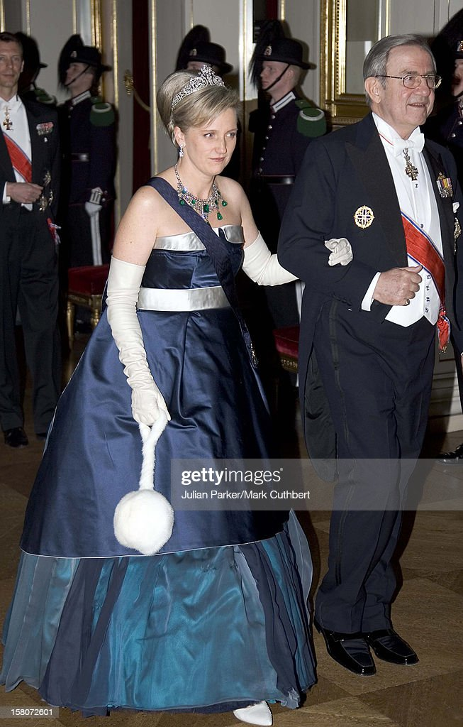 King Constantine Of Greece Attends King Harald Of Norway'S 70Th Birthday Celebrations In Oslo.Gala Dinner & Dance At The Royal Palace.