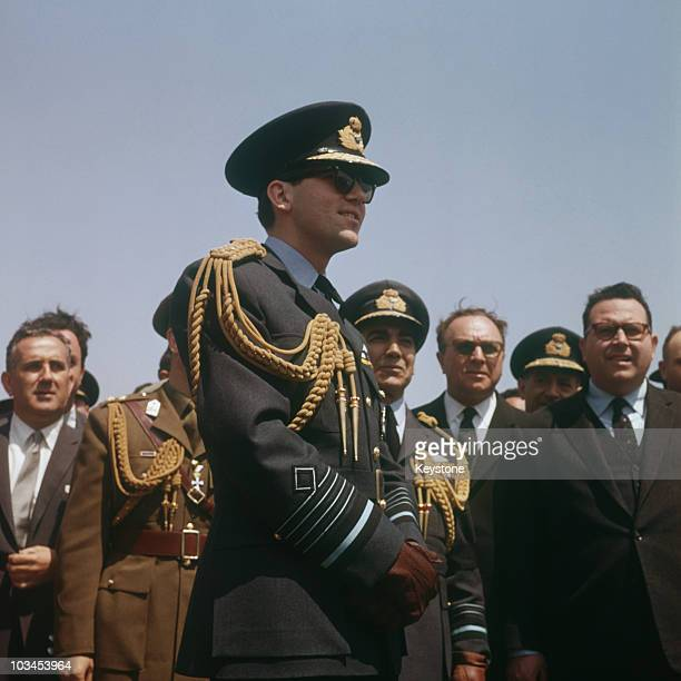 King Constantine of Greece in 1964