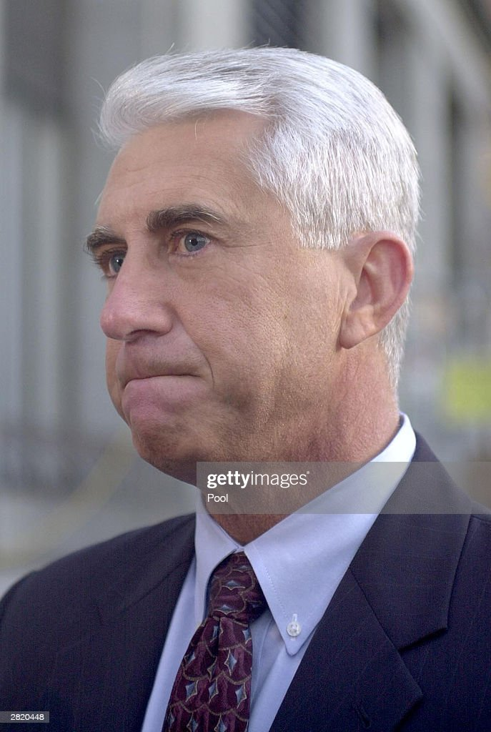 King County Sheriff Dave Reichert one of the original dectectives in the Green River Serail murder case, is seen before the sentencing portion of Gary Ridgway trial December18, 2003 in Seattle, Washington. Ridgway recieved a life sentence, with out the possibility of parole, for killing 48 women over the past 20 years in the Green River Killer serial murder case.