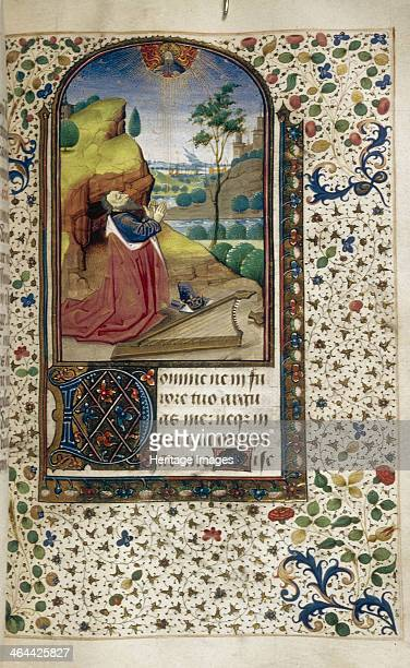 King David in prayer 14501499 Found in the collection of the The Huntington California