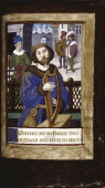 King David playing his harp ca 14901510 Found in the collection of the The Huntington California