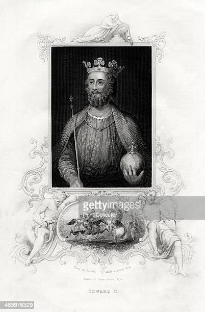King Edward II 1860 Edward II succeeded his father Edward I in 1307 His reign was characterised by friction with the barons who in 1311 drew up a...