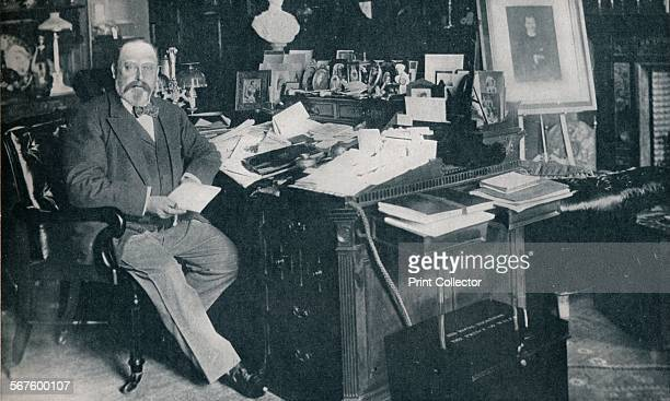 King Edward VII in his study at Marlborough House London c1904 From Edward VII His Life and Times Volume II edited by Sir Richard Holmes KCVO [The...