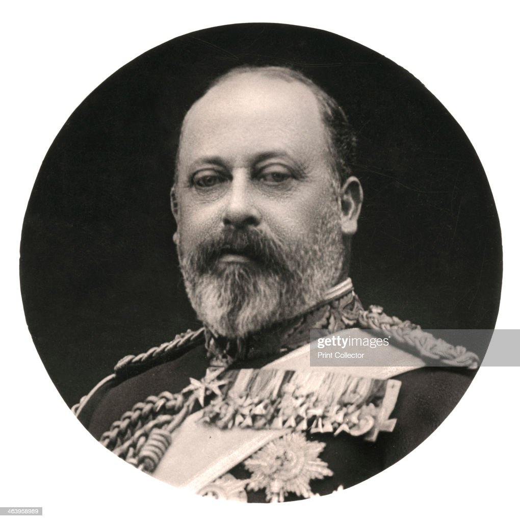 King <a gi-track='captionPersonalityLinkClicked' href=/galleries/search?phrase=Edward+VII&family=editorial&specificpeople=107207 ng-click='$event.stopPropagation()'>Edward VII</a> (1841-1910), late 19th century. <a gi-track='captionPersonalityLinkClicked' href=/galleries/search?phrase=Edward+VII&family=editorial&specificpeople=107207 ng-click='$event.stopPropagation()'>Edward VII</a> was King of Great Britain between 1901 and 1910. Before his accession to the throne, Edward held the title of Prince of Wales, and has the distinction of having been heir apparent to the throne longer than anyone in English or British history. During the long widowhood of his mother, Queen Victoria, he was largely excluded from wielding any political power but came to represent the personification of the fashionable, leisured elite. Edward's reign saw the first official recognition of the office of the Prime Minister in 1905 and he was the first British monarch of the House of Saxe-Coburg-Gotha, which was renamed by his son, George V, as the House of Windsor.