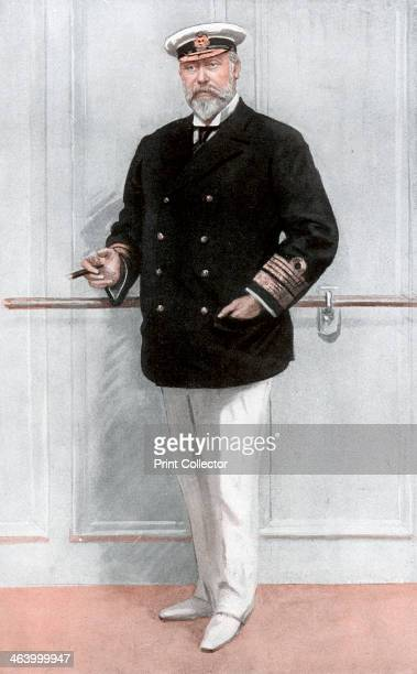 King Edward VII of the United Kingdom 1910 Edward VII dressed as a yachtsman A print from a supplement to The Graphic 11 May 1910