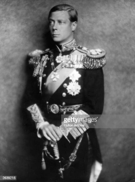 King Edward VIII in his naval uniform before his abdication from the throne He succeeded to the throne in January 1936 and abdicated in December 1936...