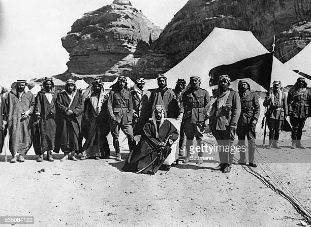 3/13/1928 IRAQ'S RULER AND HIS ADVISERS King Faisal of Iraq is shown above with his advisers on European affairs The King of Iraq is a son of King...