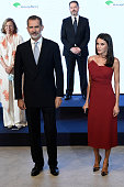Spanish Royals Attend Dinner Honouring Journalism...
