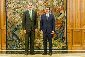 ESP: King Felipe Of Spain Meets Alfonso Fern?ndez Ma?ueco