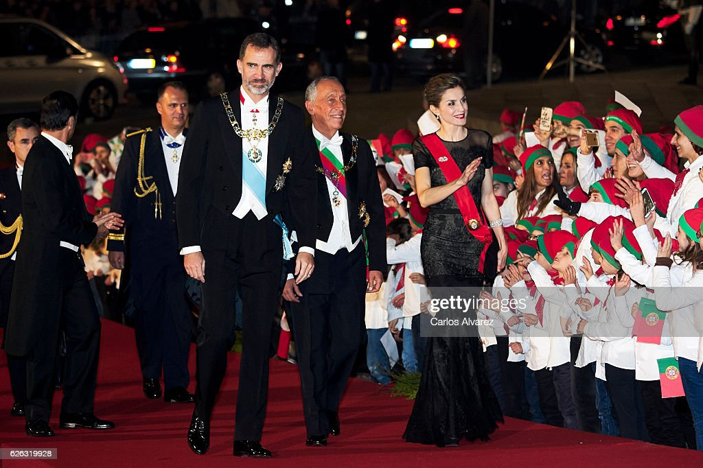 Spanish Royals Visit Portugal - Day 1