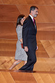 Spanish Royals Arrive At The Inaugural Act of The...