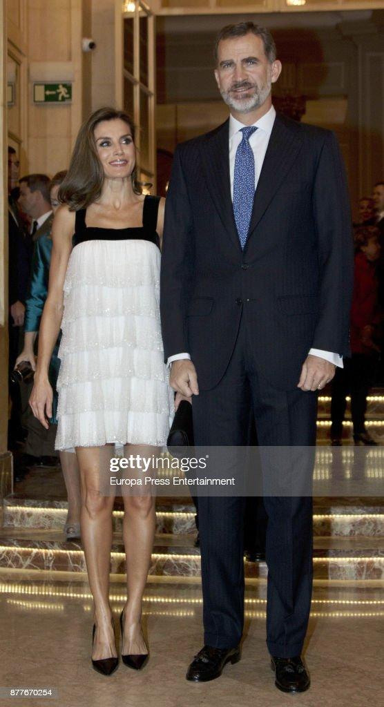 Spanish Royals Attend 'Francisco Cerecedo' Award