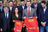 Spanish Royals  Receive National Handball Men's Team