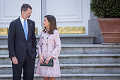 Spanish Royals Host A Lunch For President Of Mexico And...
