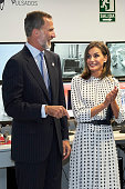 Spanish Royals Inaugurate Laser 'Vega-3'