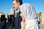 MAR: Day 2 - Spanish Royals Visit Morocco