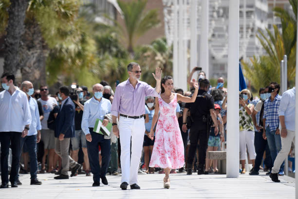 ESP: Spanish Royal Tour - Benidorm