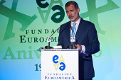 King Felipe Of Spain Attends Euroamerica Foundation...