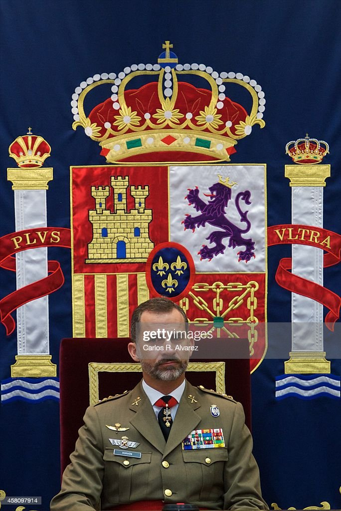 King <a gi-track='captionPersonalityLinkClicked' href=/galleries/search?phrase=Felipe+VI+of+Spain&family=editorial&specificpeople=4881076 ng-click='$event.stopPropagation()'>Felipe VI of Spain</a> attends the 50th anniversary of CESEDEN on October 30, 2014 in Madrid, Spain.