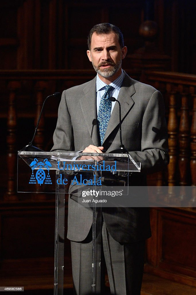 King Felipe VI Of Spain Attends 6th Humain Rights Awards