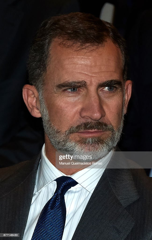 King Felipe of Spain Attends CEDE Congress Closing Day