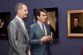 King Felipe VI Of Spain Inaugurates 'Velazquez,...