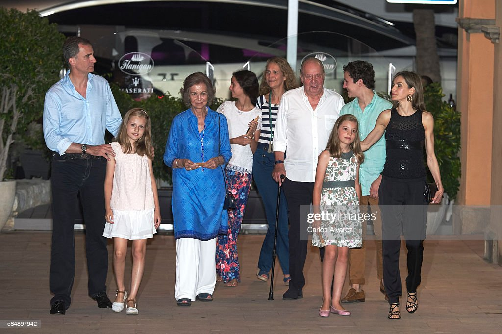 Spanish Royals Sighting In Mallorca