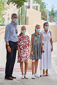 Spanish Royals Visit A Socio-Educational Center In...