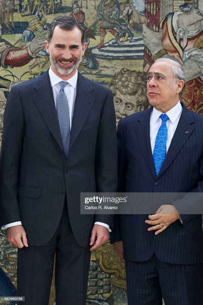 King Felipe VI Of Spain Audiences At Zarzuela Palace