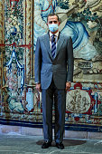 King Felipe VI Of Spain Attends Several Audiences At...