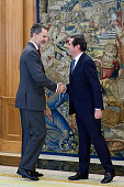 King Felipe VI Of Spain Receives CEOE President At...