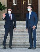 King Felipe Of Spain Meets President Pedro Sanchez At...