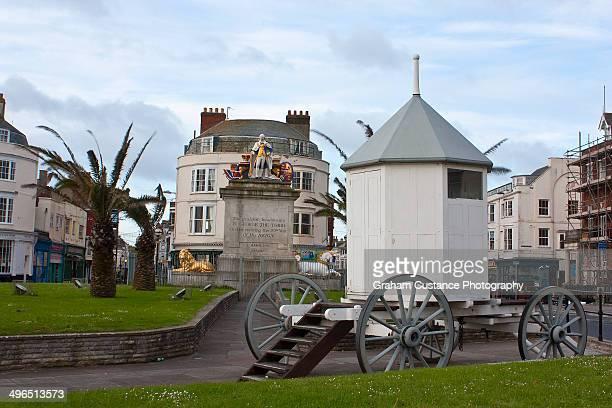 King George III bathing machine