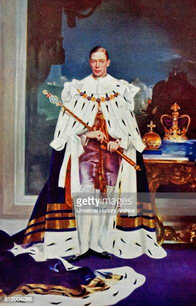 King George VI in coronation robes 1937 George VI was King of the United Kingdom and the Dominions of the British Commonwealth from 11 December 1936...