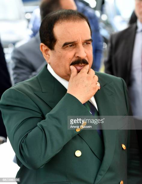 King Hamad bin Isa Al Khalifa of Bahrain attends the Endurance Event at the Windsor Horse Show on May 12 2017 in Windsor England