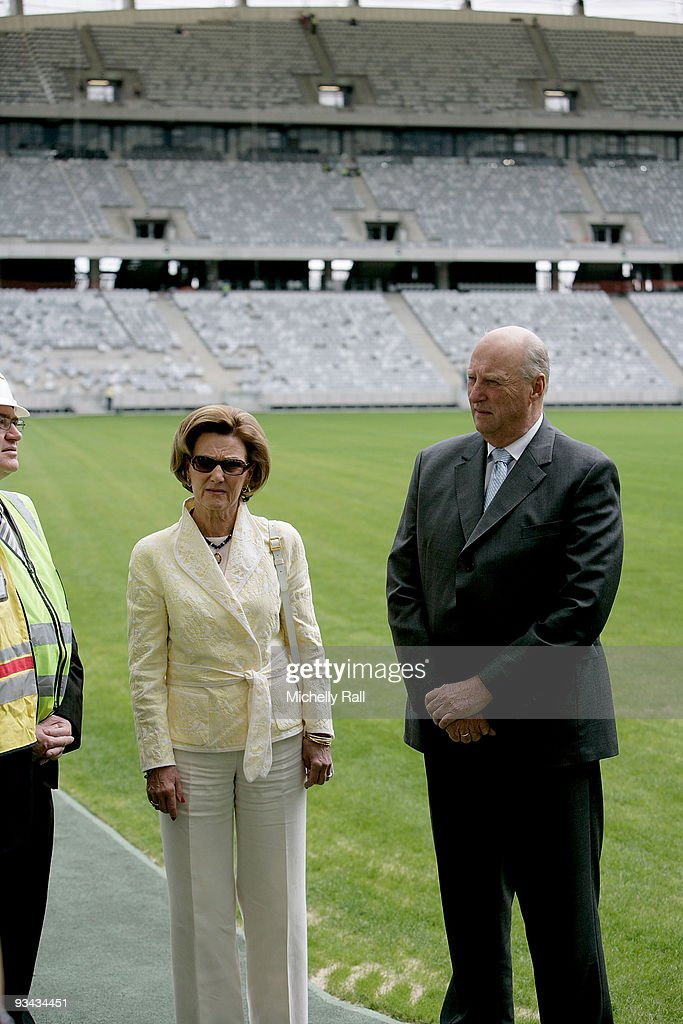 King Harald V and Queen Sonja of Norway State Visit to South Africa - Day 2