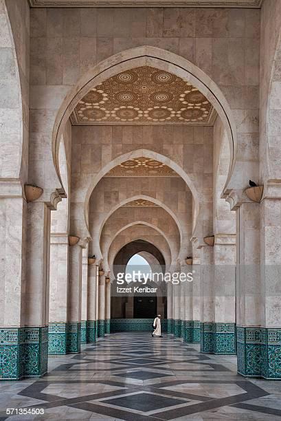King Hassan II mosque in Casablanca,Morocco