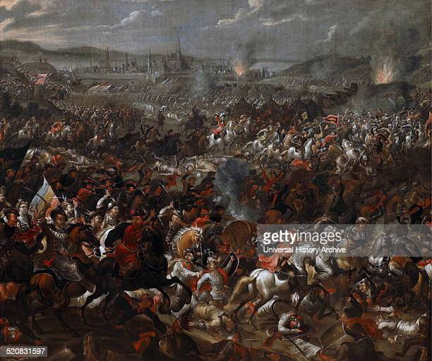 King John III Sobieski blessing Polish attack on Turks in Battle of Vienna 1683 Painted by Juliusz Kossak John III Sobieski from 1674 until his death...