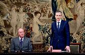 King Juan Carlos Attends 'Premio de Economia Rey Juan...
