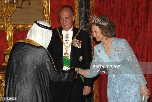 TRH King Juan Carlos and Queen Sofia and King Abdullah Bin Abdul Aziz