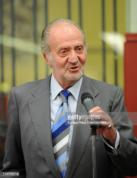 King Juan Carlos attends 'Press Association' bullfights at Plaza de Toros de Las Ventas on May 25 2011 in Madrid Spain