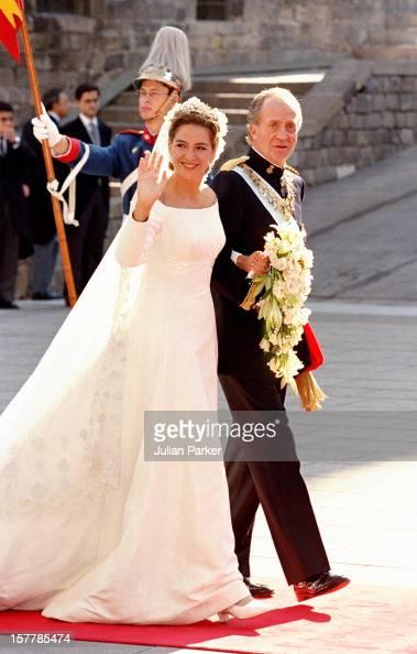 King Juan Carlos Attends The Wedding Of Infanta Cristina Of Spain And Inaki Urdangarin At Barcelona Cathedral