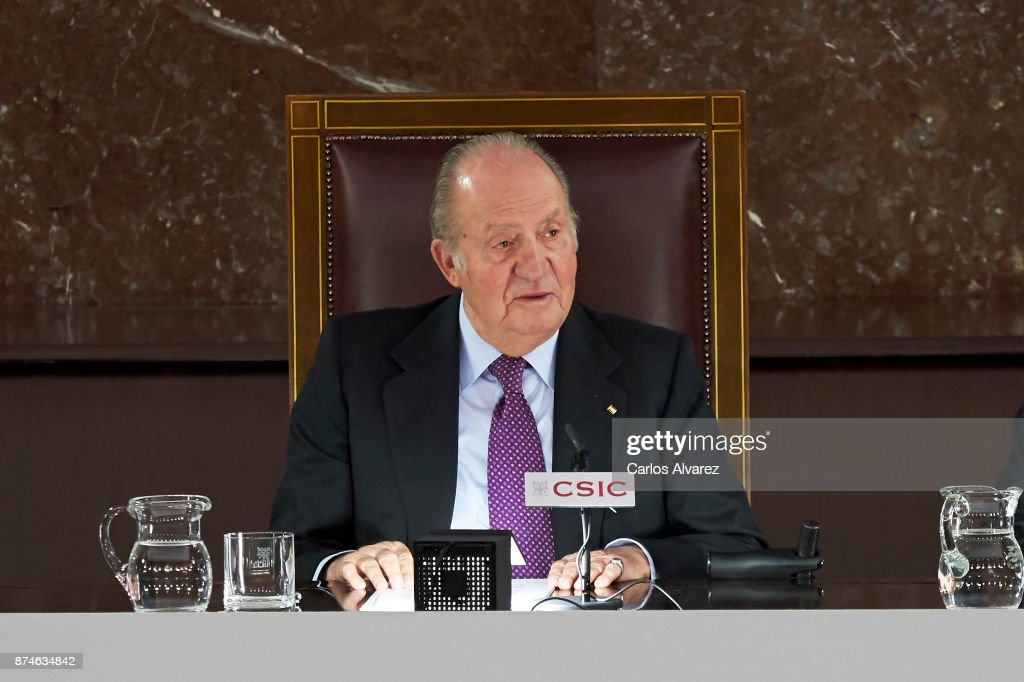 King Juan Carlos Delivers FONDENA Award 2017