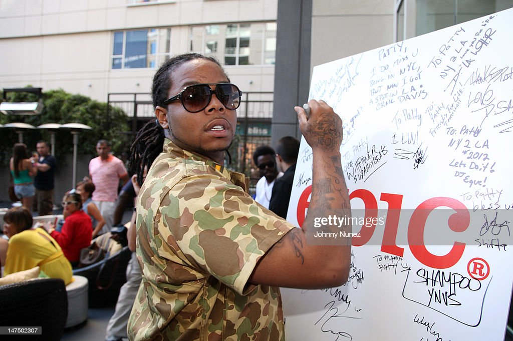 King Louie attends the Epic Records 'Epic Moment' Event at The Station Hollywood on June 30, 2012 in Hollywood, California.