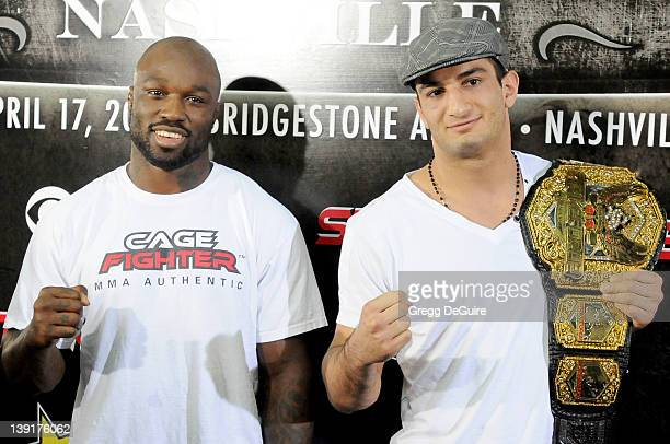 'King Mo' Lawal and Gegard 'The Dreamcatcher' Mousasi Undefeated Light Heavyweight Contender and StrikeForce Light Heavyweight Champion in an open...