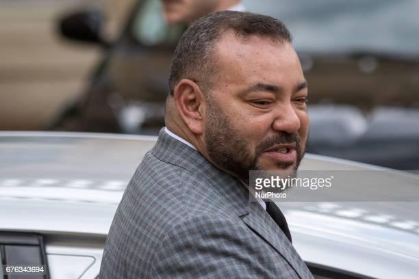 King Muhammad VI In Paris France on May 2 2017