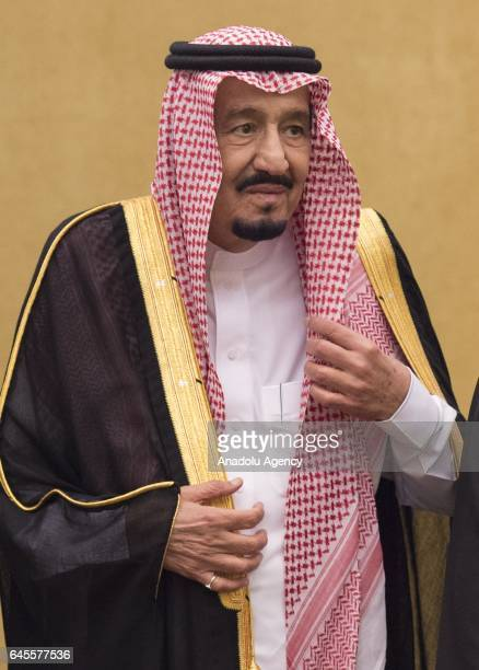 King of Saudi Arabia Salman bin Abdulaziz Al Saud meets with King of Malaysia Muhammad V during his official visit at Istana Negara in Kuala Lumpur...