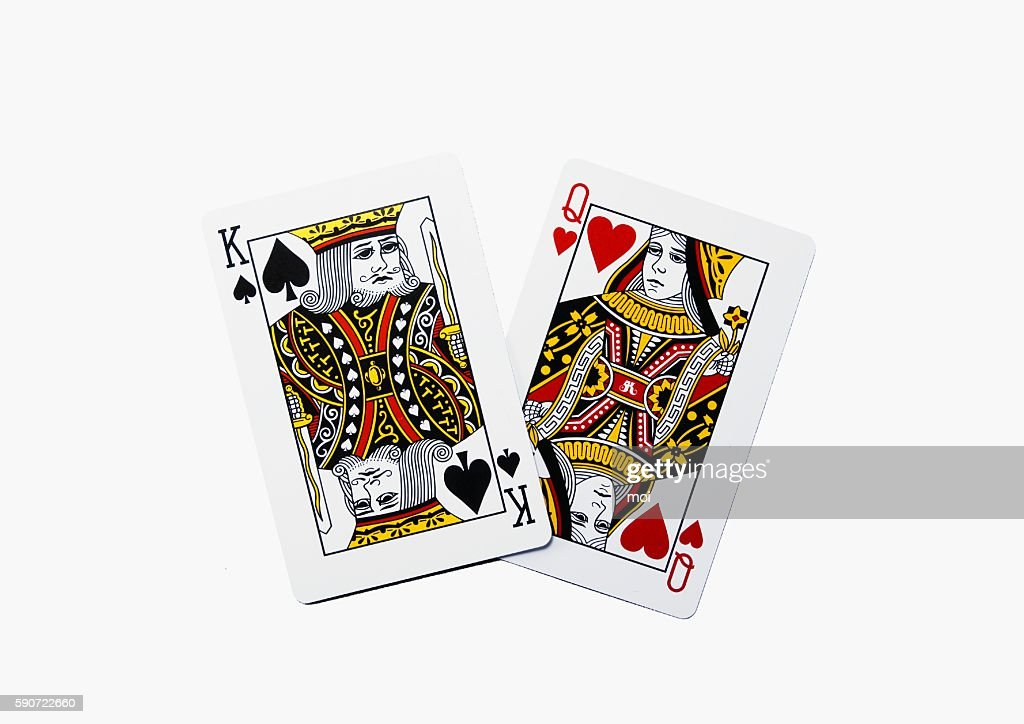King of Spades and Queen of Hearts
