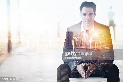 King of the concrete jungle : Stock Photo